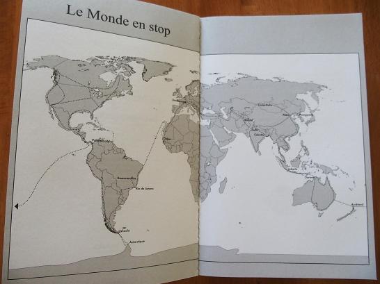 map le monde en stop