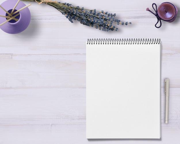 cahier d'écriture